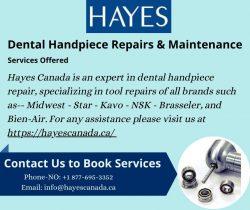 Buy Dental Handpiece at Hayes Canada