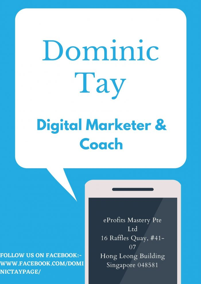 What Digital Marketers Do? | Dominic Tay