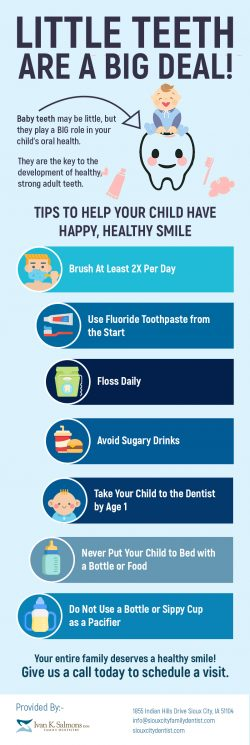 Get Safe Children's Dentistry Services in Sioux City, IA from Dr. Ivan K. Salmons, DDS