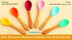 Eco-Friendly Bamboo Spoons For Kids Online