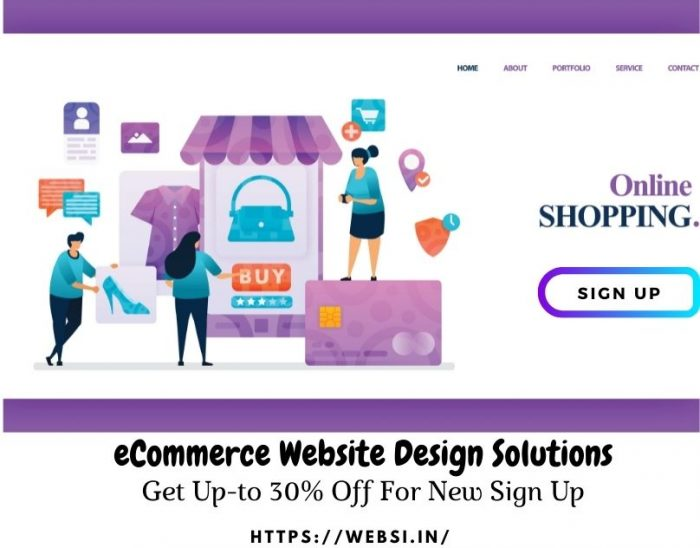 eCommerce Website Design Solutions