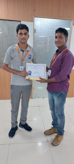 Employee of the Month-July 2021