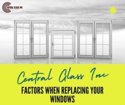 Factors When Replacing Your Windows