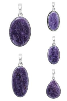 Handmade Wholesale Charoite Stone Jewelry