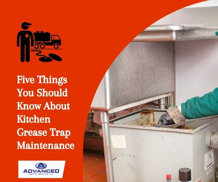 Five Things You Should Know About Kitchen Grease Trap Maintenance