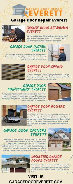 Garage Door Repair Everett