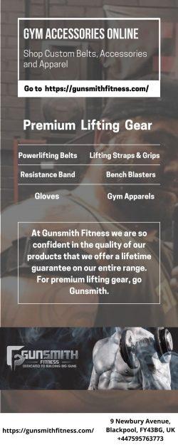 Get Gym Accessories Online | Gunsmith Fitness