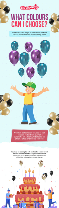Get Latex Helium Inflated Balloons Delivered to your Doorsteps with BloonAway