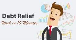 How does debt relief affect work in 10 minutes? | MoneyKey.ca