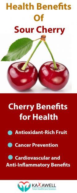 Impressive Benefits Of Sour Cherry