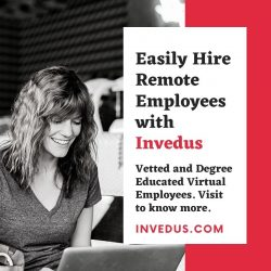 Hire Remote Employees from Invedus