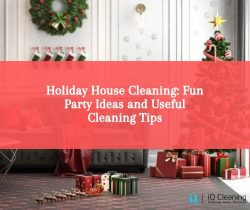 Holiday House Cleaning: Fun Party Ideas and Useful Cleaning Tips