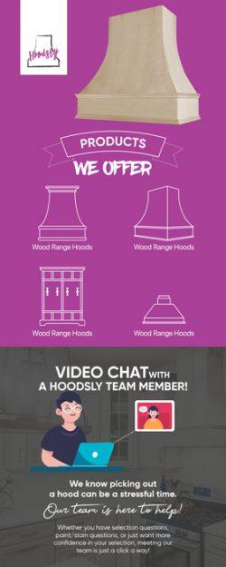 Choose Hoodsly for Custom Wood Range Hoods & More