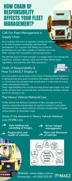 How Chain of Responsibility Affects Your Fleet Management?