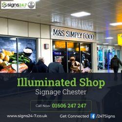 Illuminated Shop Signage Chester
