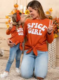 """Mia Belle Baby   Mommy and Me """"Spice Girl"""" Top"""