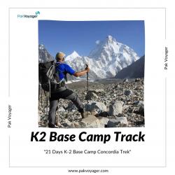 Enjoying The K2 Base Camp Trek in Pakistan