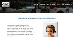 Manual and Automatic driving lessons in Oxford