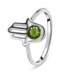 Green Moldavite Rings at Affordable Price