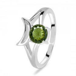 Buy Green Moldavite Rings for Women