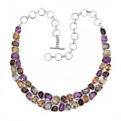Multi Gemstone Necklace : Beautiful Piece of Jewelry