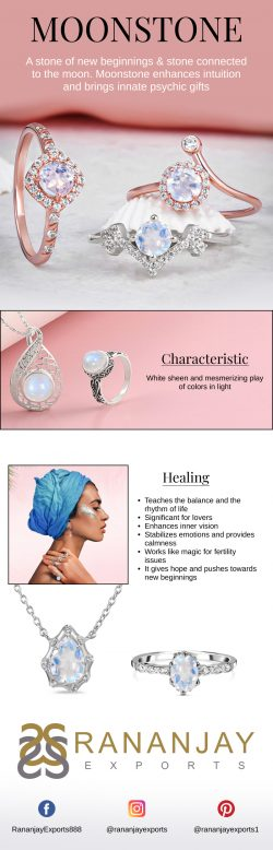Buy Real Silver Moonstone Jewelry