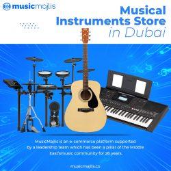Musical Instruments Store in Dubai – MusicMajlis