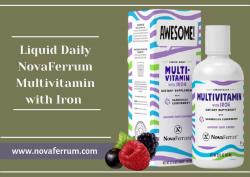 Liquid Daily NovaFerrum Multivitamin with Iron