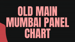 Old Main Mumbai Satta Matka