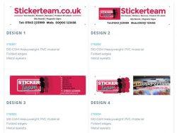 Online banners in UK