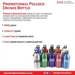 Promotional Pollock Drinks Bottle