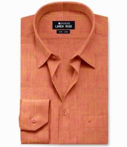 Amber – Pure Linen Colour Shirts