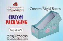 We provide a wide range of Custom rigid boxes