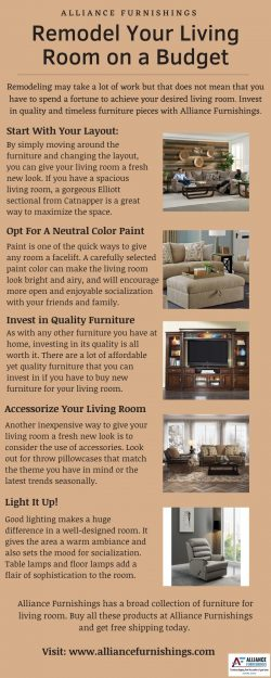 Remodel Your Living Room on a Budget