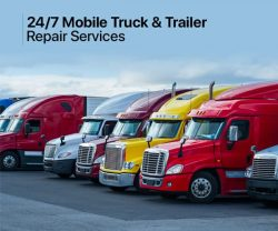 Reputable Services of Mobile Truck and Trailer Repair in Mississauga, Ontario