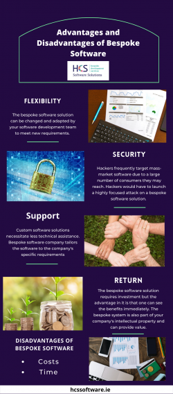 Seven Advantages (And Disadvantages) Of Bespoke Software