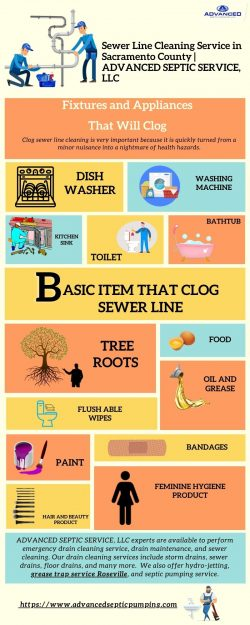 Sewer Line Cleaning Service in Sacramento County | ADVANCED SEPTIC SERVICE, LLC