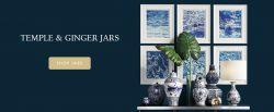 Buy Decorative Ceramic Jars Online India | Temple Jars & Ginger Jars | Whispering Homes