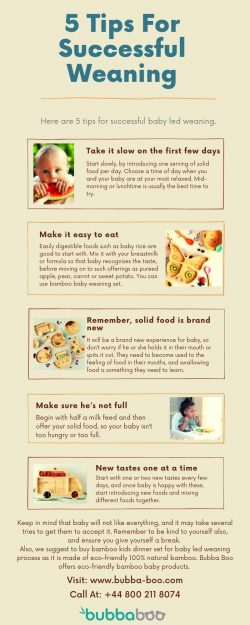 5 Tips For Successful Weaning