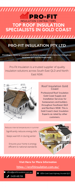 Top Roof Insulation Specialists in Gold Coast