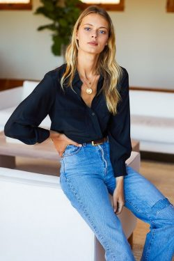 Trendy Jeans Top | Bnsds Fashion World
