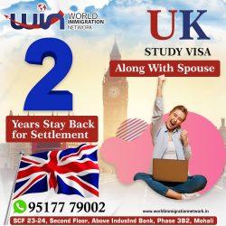 UK Study Visa With Spouse