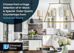 Choose from a Huge Selection of In-Stock & Special Order Quartz Countertops from Universal Stone