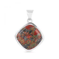 Unakite Pendant : Beautiful Piece of Jewelry