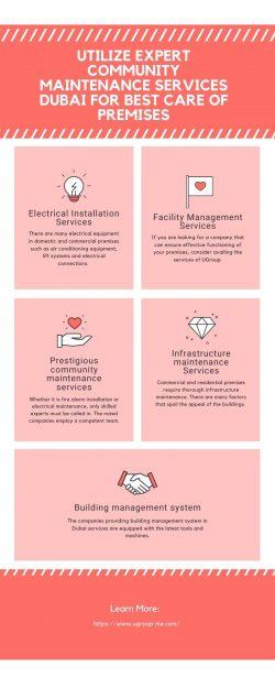 Utilize Expert Community Maintenance Services Dubai for Best Care of Premises