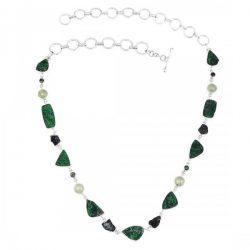 Beautiful Uvarovite Stone Jewelry