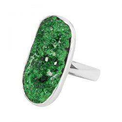 Buy Genuine Green Uvarovite Jewelry at Factory price.