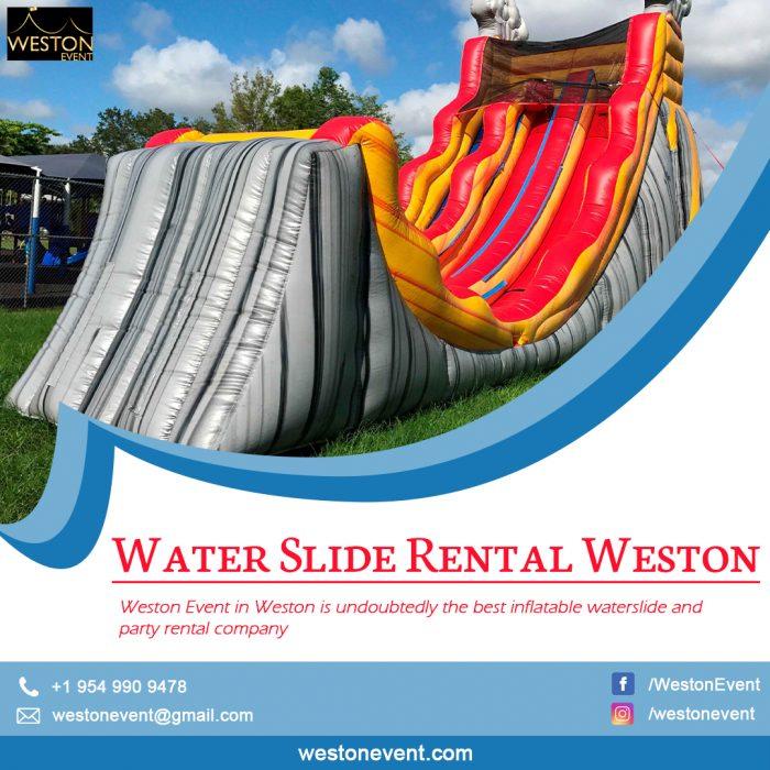 Water Slide Rental Weston