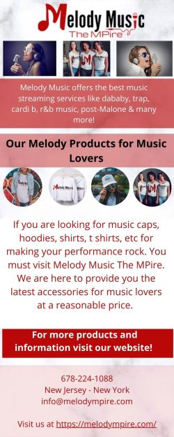Buy Music Caps Online – Melody Music The Mpire