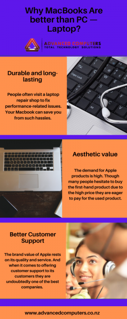 Why MacBooks Are better than PC — Laptop?